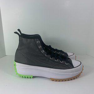 CONVERSE RUN STAR HIKE Men's Size 13 CONCRETE HEAT BLACK / Ghost Green 167852C
